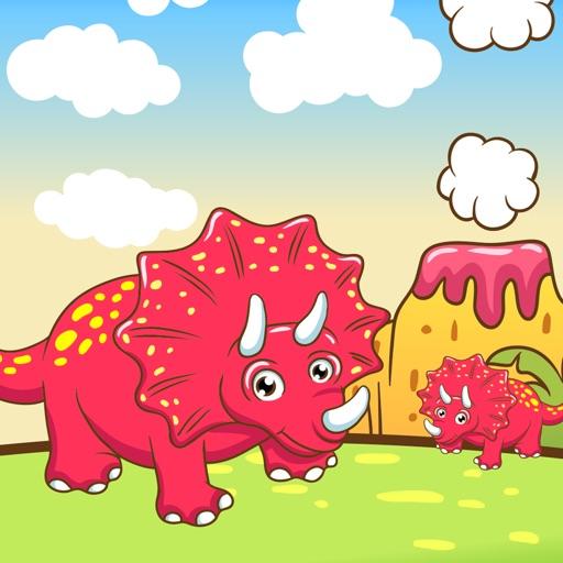Attivo! Ordina Per Dimensioni Per i Bambini Con i Dinosauri