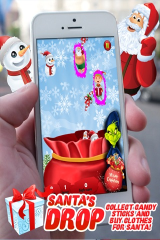 Santa's Drop Pro ~ An Educational Christmas Game for Kids and Candy Sticks screenshot 2