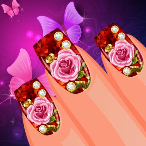 Nail Salon Floral Edition iOS App