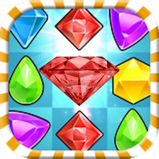 Jewel Mania Splash - FREE Fun Matching Games for Children & Adults iOS App