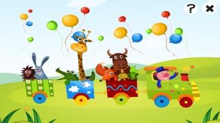 Actif! Jeu Pour Les Enfants À Apprendre et À Jouer Avec la Gare et AnimauxCapture d'écran de 2