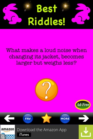 Best Riddles & Brain Teasers! Funny Little Riddle and Jokes App for Kids FREE! screenshot 1