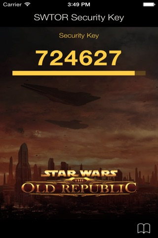 Star Wars: The Old Republic Security Key screenshot 2