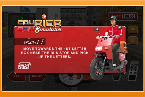 3D Courier Boy Simulator - Best courier, postal service and rider simulation game screenshot 3