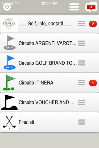 Golfitinera screenshot 2