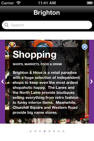 Brighton Official Visitor City Guide screenshot 2