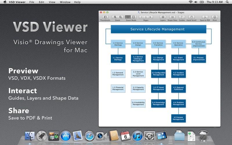screenshot 1 - Mac Microsoft Visio