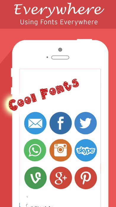 Screenshots of Fonts Keyboard, Art Fonts, Cool Font for Chat for iPhone