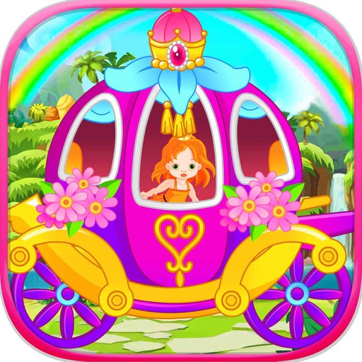 Pretty Princess Carriage - games for girls & kids iOS App