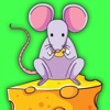 Mouse Cheese Coloring Book For Kids Games