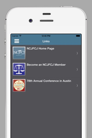 NCJFCJ Conferences screenshot 4