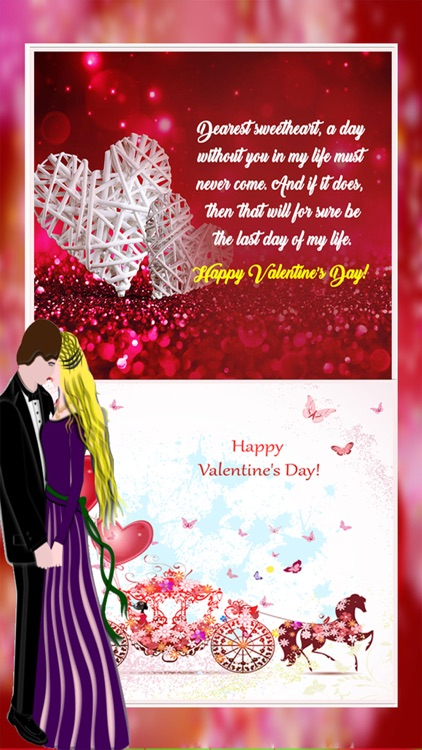 Valentines Day Card Maker Love WishesQuotes by Farah Ishani – Valentines Day Card Maker