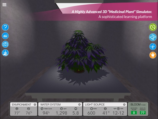Screenshot #1 for simLeaf