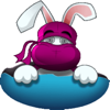 download Cute Ninja Rabbit  (Animated) stickers by CandyA$$