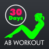 30 Day Ab Fitness Challenges ~ Daily Workout Free