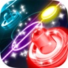 Air Hockey HD 2 - Two Player Glow Game