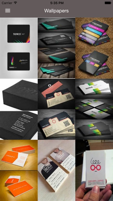 Business Cards Best Design Idea For Business Card App