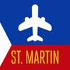 Saint-Martin Guide de Voyage avec Carte Offline