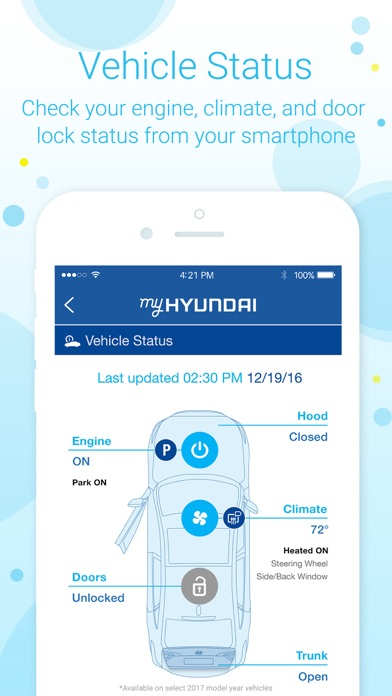 myhyundai with blue link on the app store. Black Bedroom Furniture Sets. Home Design Ideas