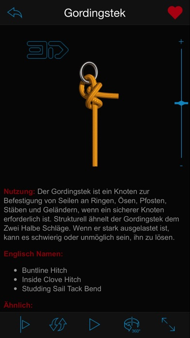 Knots 3D (Knoten) Screenshot
