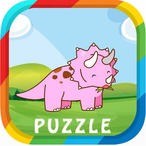 Kids Dinosaur Puzzle Games: Jigsaw Toddlers Free iOS App