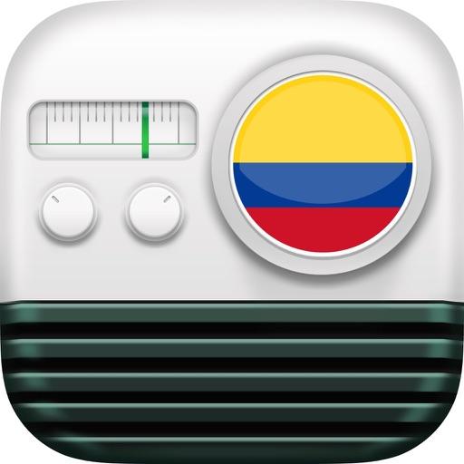 Radios de Colombia Gratis: Radio AM FM Emisoras iOS App