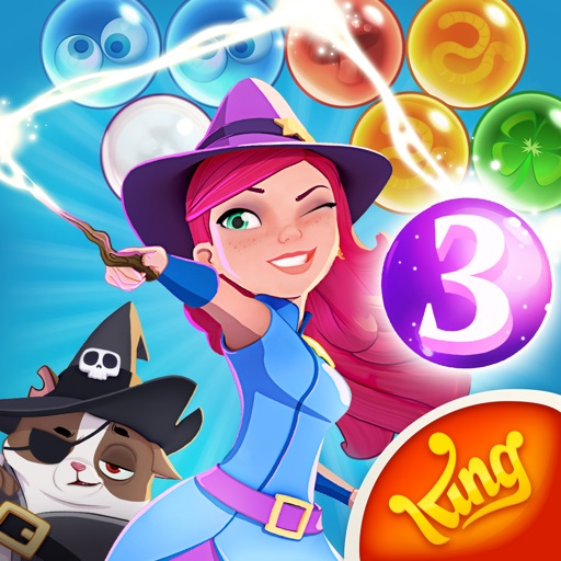 Bubble Witch 3 Saga for iPhone