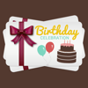 Creative B'Day Cards | FREE Printable Card Designs