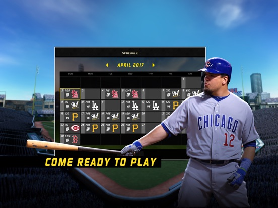 R.B.I. Baseball 17 iPad