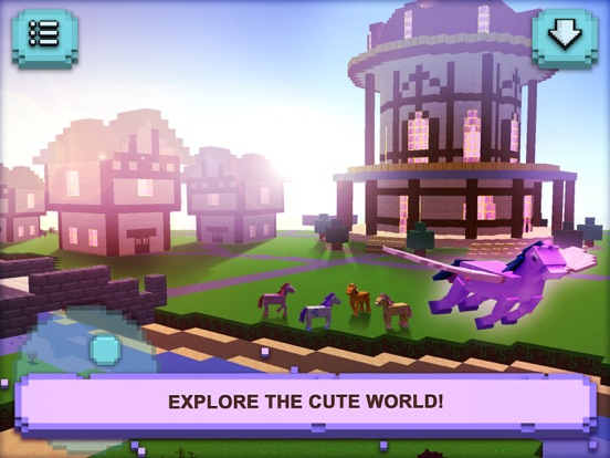 Little Pony Town Craft Design Build By Tiny Dragon Adventure
