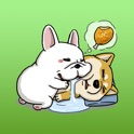 Zin And Zon Puppy Couple Sticker icon