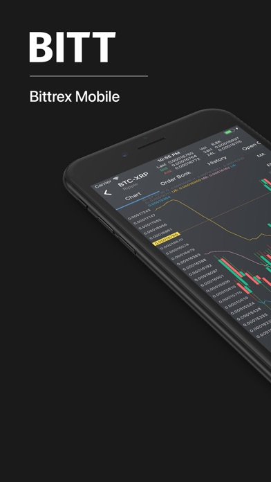 Bitt: Bittrex Mobile screenshot 1