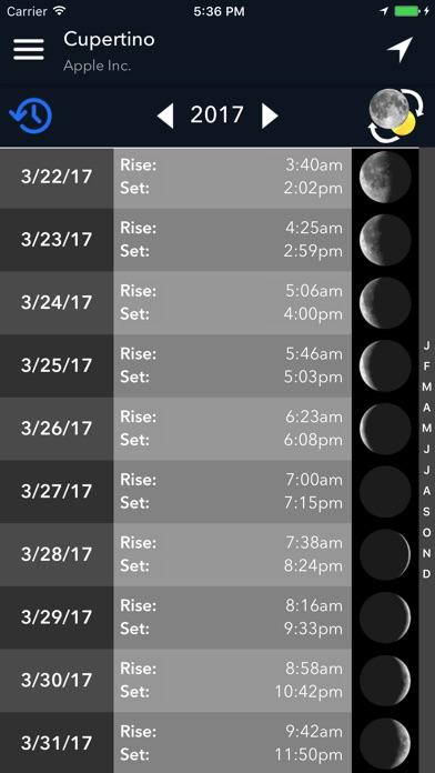 Screenshot #4 for Lumos: Sun and Moon Tracker