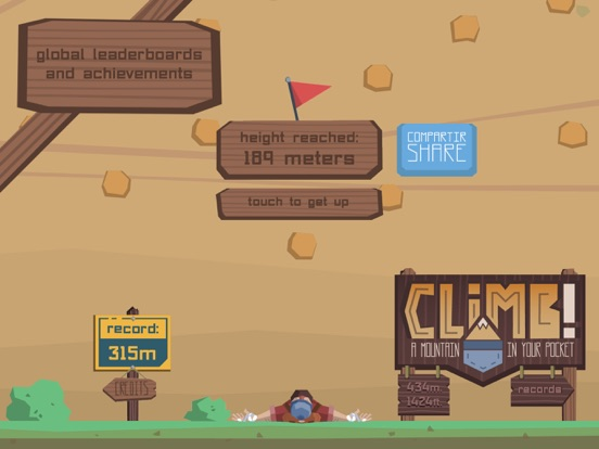 Игра Climb! A Mountain in Your Pocket