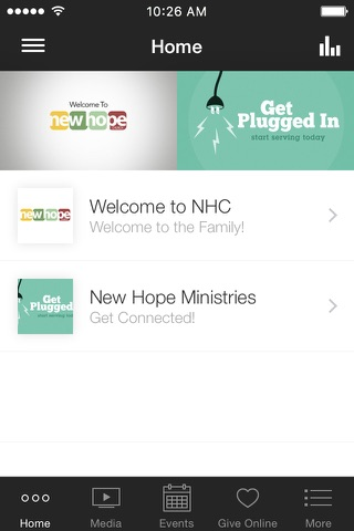 New Hope Church Abilene screenshot 1