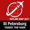St Petersburg Reiseführer + Offline-Karte