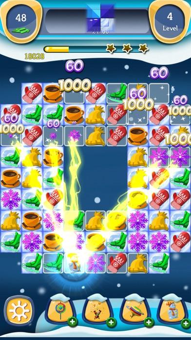 Frozen Madness: Winter Match 3 screenshot