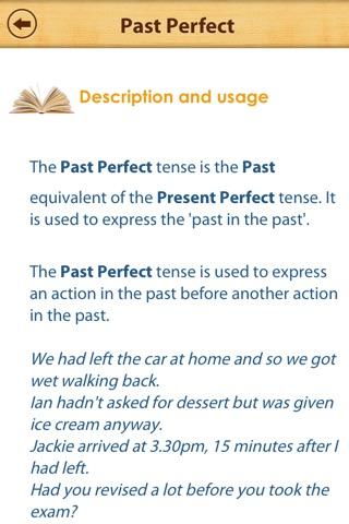 Grammar Express: Tenses screenshot 3