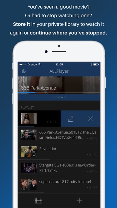 ALLPlayer - movies on the go Screenshots