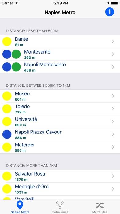 Screenshot of Metropolitana di Napoli1