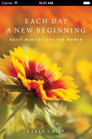 Each Day a New Beginning: Meditations for Women screenshot 1