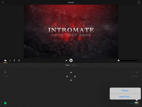 IntroMate - Intro Maker Screenshots