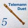 Telemann 6 Sonatas for two Treblerecorders(1-6)