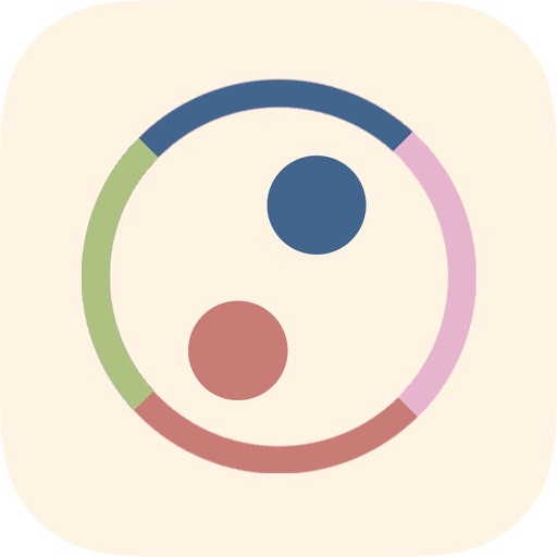 Dot Tap - tap the circle to switch color iOS App