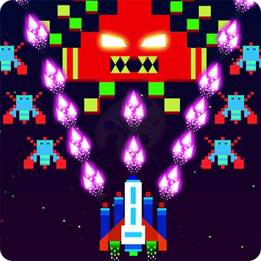 Galaxy Space Invaders HD iOS App
