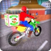 Pizza Moto Bike Delivery 3D