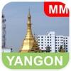Янгон, Бирма (Мьянма) Карта - PLACE STARS