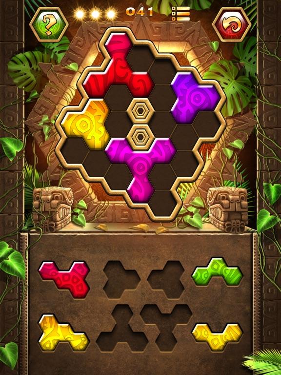 Screenshots of Montezuma Puzzle 3 for iPad