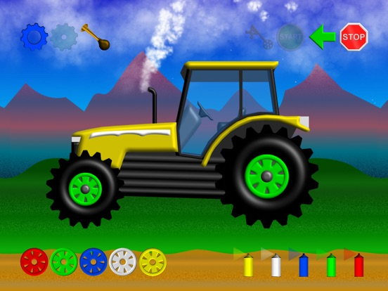 Happy Tractor by Horse Reader screenshot 5