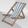 пляж и летние наклейки